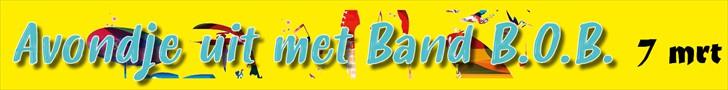 Reklame banner Band BOB